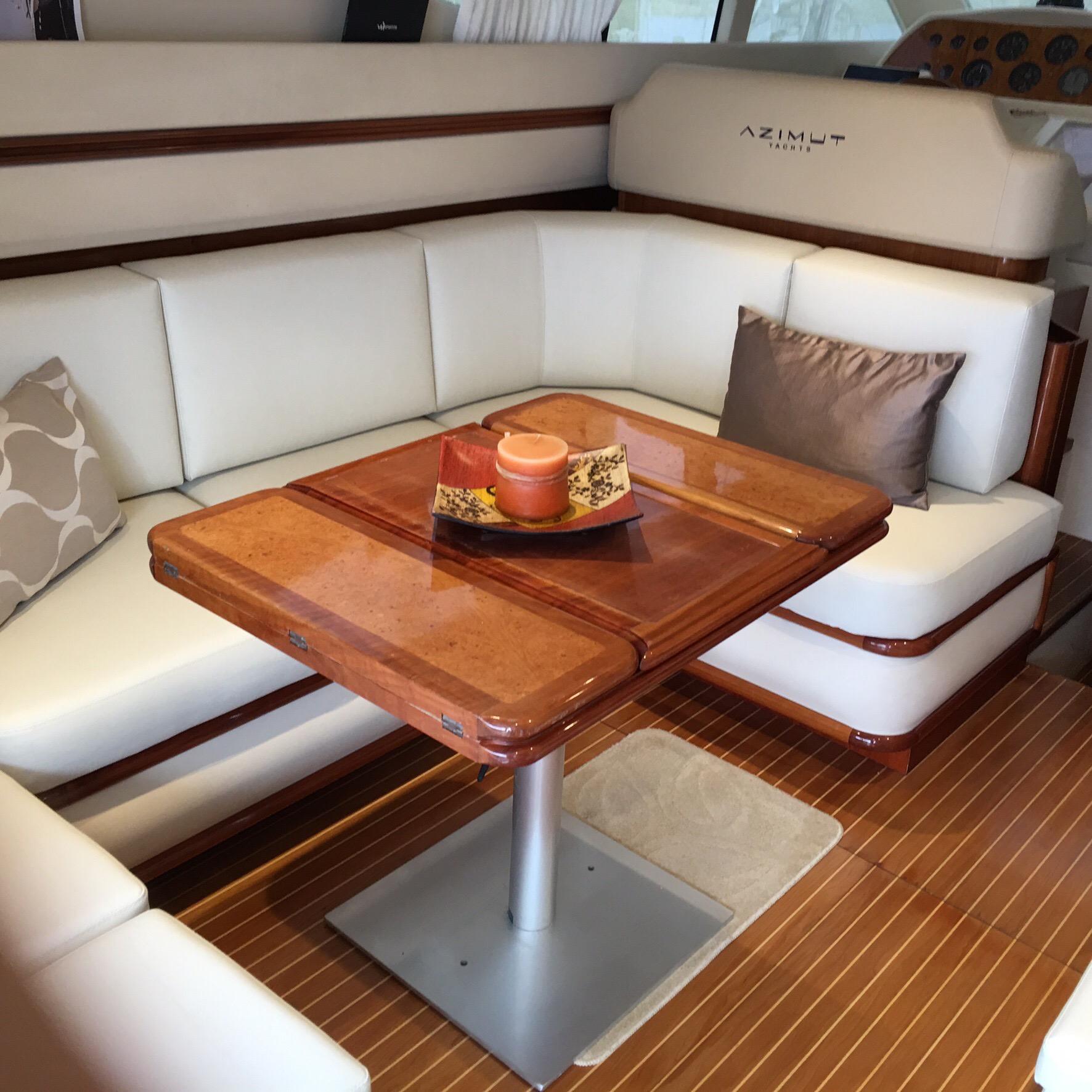Perfect Boat Interior Sofa Set